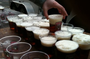 Widmer beers close up